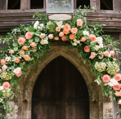 church flower decoration