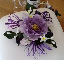 purple sugar flower