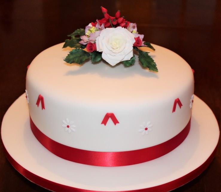 60th Celebration Cake (2)